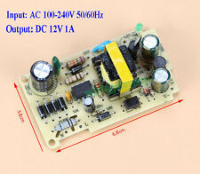 AC-DC 100-240V To 12V 1A Buck Converter Isolated Step Down Power Supply Module