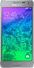 Samsung Galaxy Alpha Sleek Silver, Android Smartphone