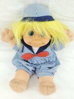 "Vintage Russ Troll Kidz 12"" SKIPPY Rare Plush Doll Trolls"