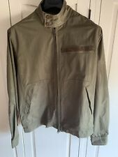 Maharishi Ripstop Jacket In Dark Olive In Size Medium