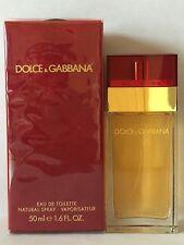 Dolce & Gabbana D&G Red for women 1.6oz Women's Eau de Toilette spary NIB