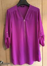Ladies F&F Purple Top Size 10