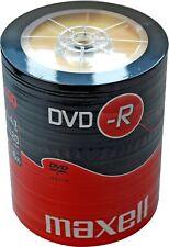 100 Maxell DVD-R 4,7GB 120Min 16x Rohlinge 100er Shrink