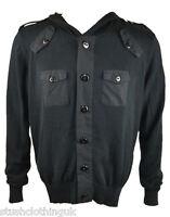 Swade Men's Hooded Sweat Top Black (SUTP002a)
