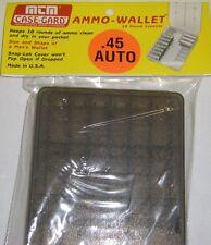MTM Case Gard™ New MTM Plastic Ammo Wallet 18 round Smoke W18-45-41 45 auto