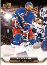 2015-16 Upper Deck Series One Hockey Ud Canvas #C58 Rick Nash