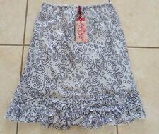 Hand-wash Only Knee-Length 100% Cotton Skirts for Women