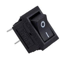 5 x AC 250V 3A 2 Pin ON/OFF I/O SPST Snap in Mini Boat Rocker Switch BT E7R8