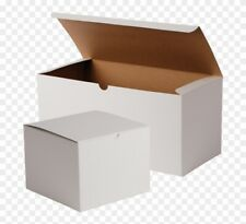 """20 x WHITE SHIPPING BOXES GIFT SIZE: 6.5"""" x 4.5"""" x 3.5"""" (16.5cm x 11.5cm x 8.cm)"""