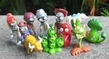 Plants vs Zombies 2 PVC 10x Toy Action Figures Set: Egypt Private Wild West