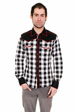 Unbranded Plaid Fitted Casual Shirts & Tops for Men