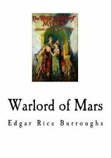 Warlord of Mars by Edgar Rice Burroughs (2016, Paperback)