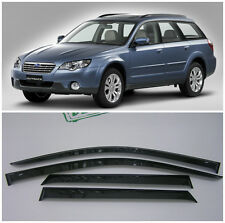 For Subaru Outback 2004-2009 Window Visors Side Sun Rain Guard Vent Deflectors