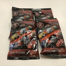 Disney Cars 3 Lot Of 4 Mini Racers Blind Bags