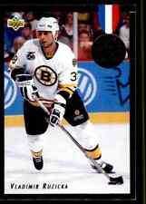 1992-93 Upper Deck Euro-Stars Vladimir Ruzicka #E4