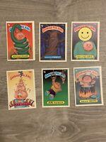Vintage Garbage Pail Kids Cards - Lot of 33 - Series 7