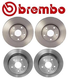 For Lexus ES300 Toyota Camry Solara Brembo Front and Rear Disc Brake Rotors Kit