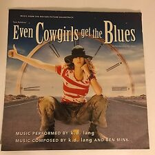 KD LANG Music Soundtrack EVEN COWGIRLS GET THE BLUES Square Movie Film Poster