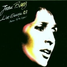 "JOAN BAEZ ""LIVE EUROPE 83"" CD NEW+"