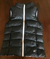 NIKE Girl's Black/ Pink Down Puffer Vest Size Small