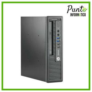 COMPUTER PC SFF HP INTEL PENTIUM G DUAL CORE  4GB DDR3 500GB  RICONDIZIONATO