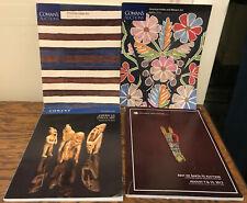 4 NATIVE Am Indian ART Auction catalogs - Cowans 2004, 2013, 2014 & Allard 2013!