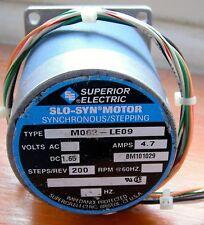 Superior Electric SLO-SYN versión/motor gradual MO62-LE09 Usado Probado
