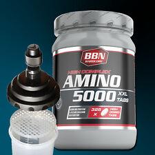 (29,13€/kg) Hardcore Amino 5000 325 Tabletten Best Body Nutrition + Shaker