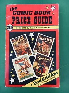 1972 OVERSTREET COMIC BOOK PRICE GUIDE #2 Softcover