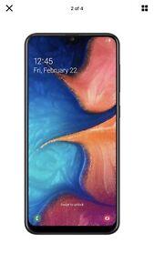 "New Samsung A20 - 6.4""32 GB Global Unlocked GSM,noSprint,no Boost M,no Verizon."