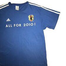 64569b05b2f Japan Adidas Football T Shirt   2010 World Cup   Medium   Excellent  Condition