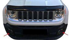 Jeep Renegade 2014-2018 Abs Carbon Fiber Fog Lamp Rim Cover 2Pieces