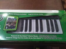 Rock Band 3 Wireless Music Keyboard for Xbox 360 USED ONCE Original Packaging