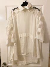 BNWT White Tunic Dress. Stunning Design Size S Boutique Dress
