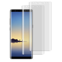 2 x Panzerfolie Samsung Galaxy Note 8 TPU 3D Komplett Rand Displayschutzfolie
