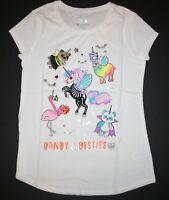 New Justice Girls Halloween Top Tee Candy Besties Unicorn 7 12 14 16 18 20 22 24