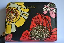 Paul Smith WOMENS Small Floral ZIP AROUND PURSE New