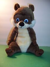 "KOHL'S CARES FOR KIDS - RJ RACCOON - OVER THE HEDGE - 11"" TALL PLUSH - VGC"