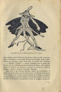 34- LE AVVENTURE DI PINOCCHIO Bross. edit. ill G. Galizzi  C.Collodi 1942 Torino