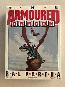Ral Partha The Armoured Dragon Miniatures Box Set 10-419 - New SW
