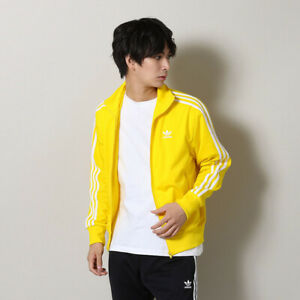 adidas Men's Originals Firebird Track Jacket Yellow ED6073