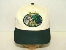 John Deere 50 Series Combines Snap Back Cream & Green Adjustable Hat K Products
