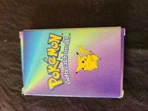 1998 KFC vintage Pokemon Nintendo Kids Meal Card game,  full deck in box