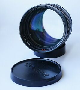 Carl Zeiss Planar T* f/1.4 85mm Lens Contax/Yashica C/Y mount