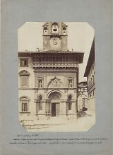 AREZZO Italie Italia Photo Albumine ca 1875