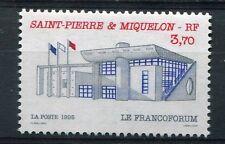 ST-PIERRE-et-MIQUELON, 1995, timbre 621, BATIMENTS PUBLICS, neuf**