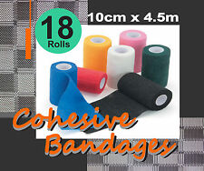Comfort Horse 18 Rolls Cohesive Bandages 10cmx4.5m.
