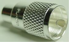 High Quality Pl-259 Silver Plated With Teflon Dielectric Uhf Male Connector