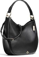 Coach 36026 Nomad Hobo Glove Tanned Leather Black NWD NWOT MSRP $338 No Dust Bag