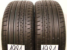 2 x Sommerreifen Continental Sport Contact-2   205/55 R16, 91V. 8,0mm.